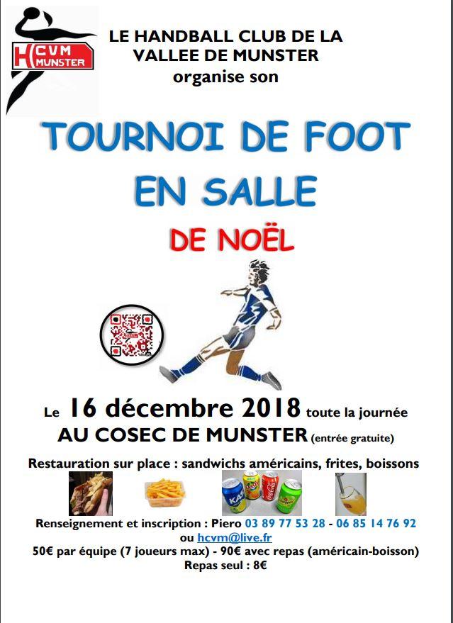 Affiche tournoi de foot noel 2018 3